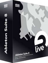 Ableton Live 8.2 Suite Upgrade from Live 7