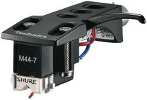 Shure M44-7H Turntable Cartridge with Technics Headshell
