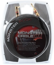 Monster Rock Instrument Cable (12' Straight-to-Angled)