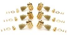 Gibson Accessories Vintage Tuning Machine Heads (Gold w/Pearloid Buttons)