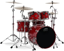 DW Performance Series 5-piece Shell Pack (Candy Apple 5-piece)