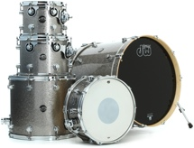 DW Performance Series 5-piece Shell Pack (Titanium Sparkle 5-piece)