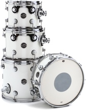 DW Performance Series Tom/Snare Pack (Ice White 4-piece)