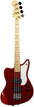 Fender Pawn Shop Reverse Jaguar Bass (Candy Apple Red)