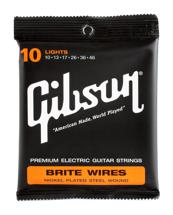 Gibson Accessories 700L Brite Wires Electric Strings (.010-.046 - Light)