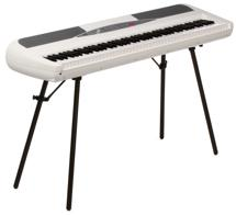 Korg SP-280 Digital Piano with Speakers - White