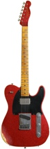 Fender Custom Shop Sweetwater Mod Squad '62 Telecaster Custom (Red Sparkle, Heavy Relic. Tele)