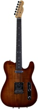 Fender Select Carved Koa Top Telecaster (KOA Sienna Edge Burst)