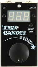 Visual Sound Time Bandit Tap Tempo Delay Click Track Sync