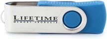 Lifetime Memory USB Flash Drive (4 GB)