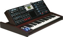 Moog Minimoog Voyager Select Series (Electric Blue/Mahogany)