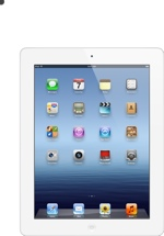 Apple iPad (Wi-Fi, 16GB White)