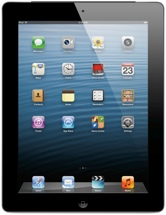 Apple iPad with Retina Display (Wi-Fi + 4G, Verizon, 128GB Blac)