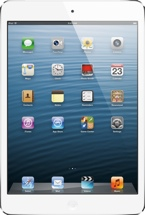 Apple iPad mini (Wi-Fi + 4G, AT&T, 16GB White)
