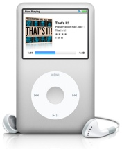 Apple iPod classic (Silver)