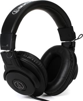 audio technica ath m30x monitoring headphones closed. Black Bedroom Furniture Sets. Home Design Ideas