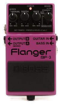 boss bf 3 flanger pedal. Black Bedroom Furniture Sets. Home Design Ideas