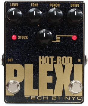 tech 21 hot rod plexi distortion and boost pedal. Black Bedroom Furniture Sets. Home Design Ideas