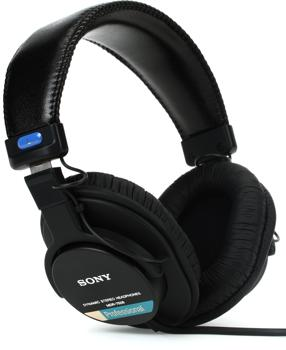 sony mdr 7506 studio headphones closed. Black Bedroom Furniture Sets. Home Design Ideas