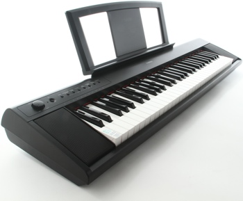 Yamaha piaggero np11 61 key piano with speakers for Yamaha np11 digital piano