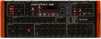 dave smith instruments prophet 39 08 module 8 voice analog synthesizer. Black Bedroom Furniture Sets. Home Design Ideas