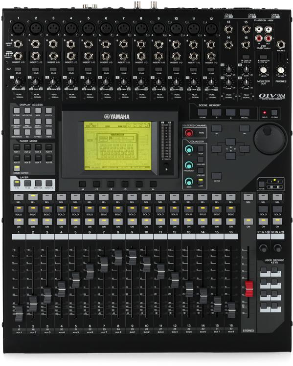 yamaha o1v96i 24 ch digital mixing console ebay. Black Bedroom Furniture Sets. Home Design Ideas