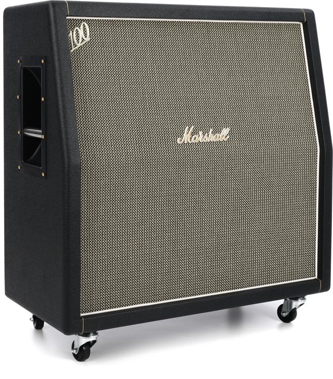 marshall 1960ahw 120w 4x12 handwired angled cabinet. Black Bedroom Furniture Sets. Home Design Ideas