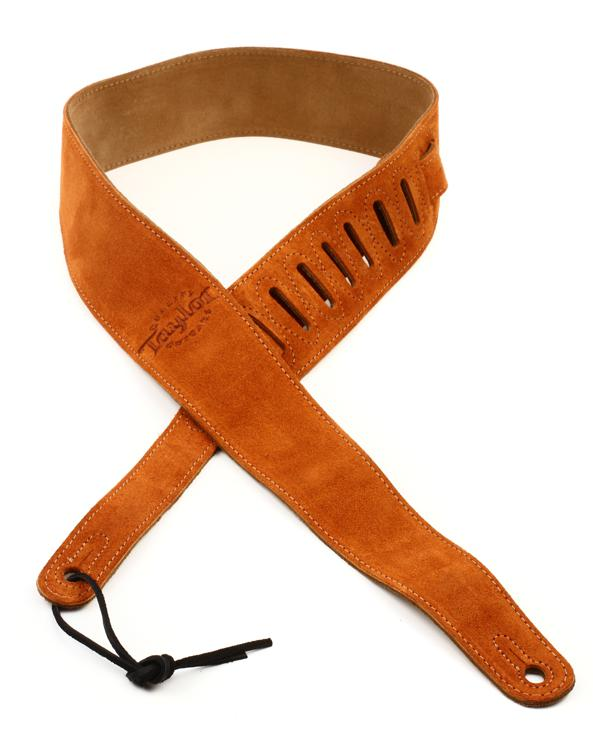 Taylor Suede Guitar Strap Honey Sweetwater Com