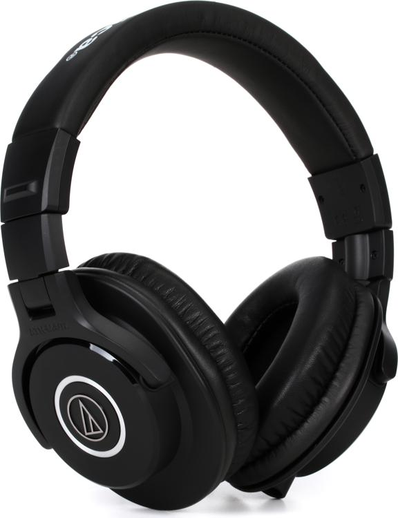 Audio Technica Ath M40x Closed Back Studio Monitor
