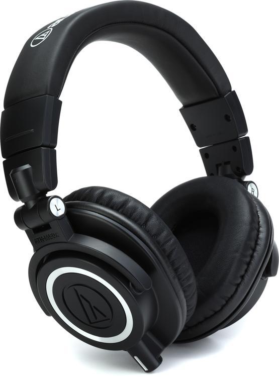 Audio-Technica ATH-M50x Studio Monitor Headphones - Over ...