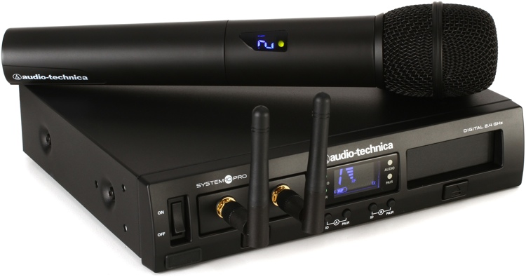 audio technica system 10 pro digital wireless handheld system. Black Bedroom Furniture Sets. Home Design Ideas
