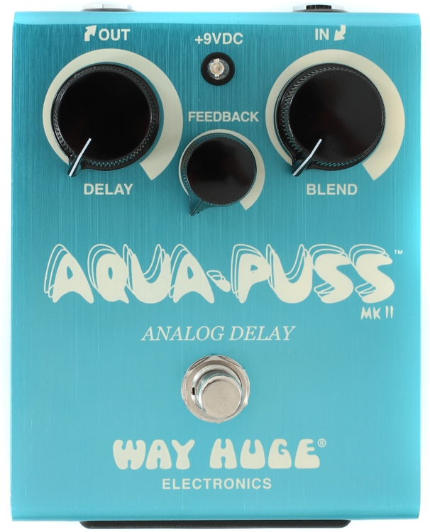 Way Huge Aqua Puss Analog Delay Sweetwater Com