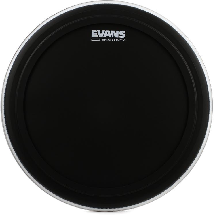 evans onyx series bass drum head 18 emad. Black Bedroom Furniture Sets. Home Design Ideas