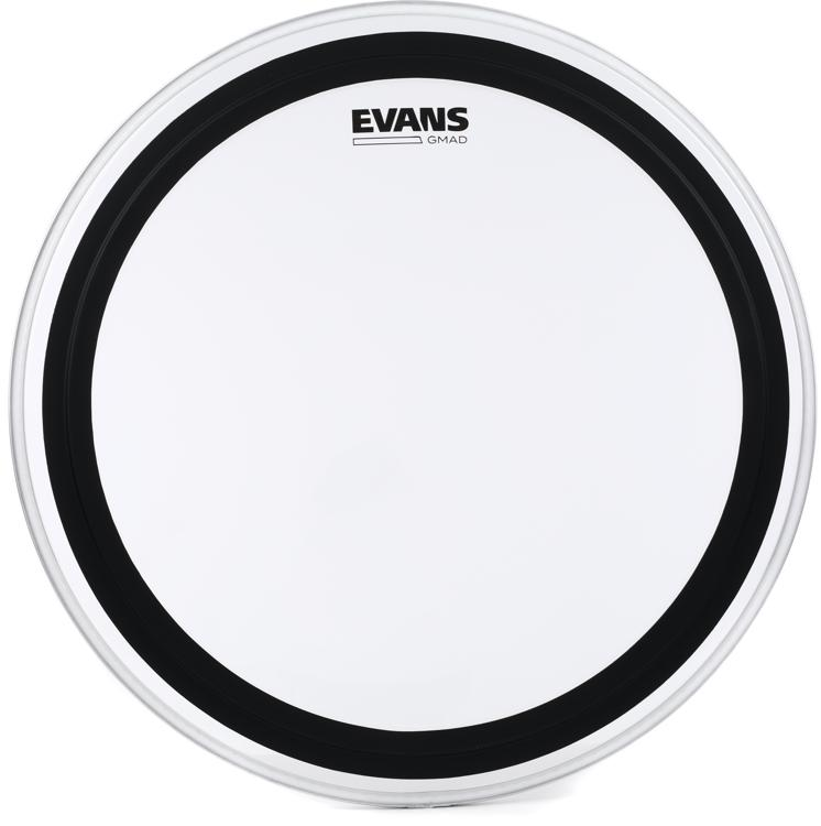 evans gmad clear drumhead with damping system 20. Black Bedroom Furniture Sets. Home Design Ideas