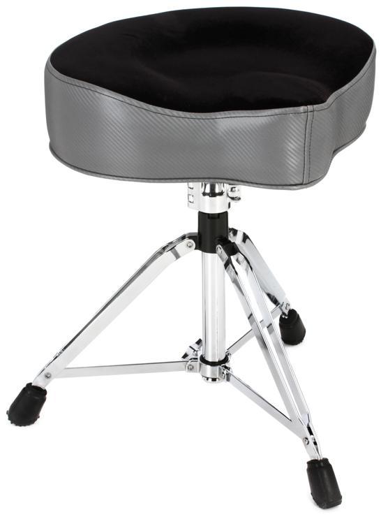 pork pie percussion big boy drum throne carbon fiber with flat black top. Black Bedroom Furniture Sets. Home Design Ideas
