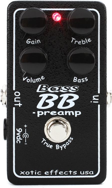 xotic bass bb preamp. Black Bedroom Furniture Sets. Home Design Ideas