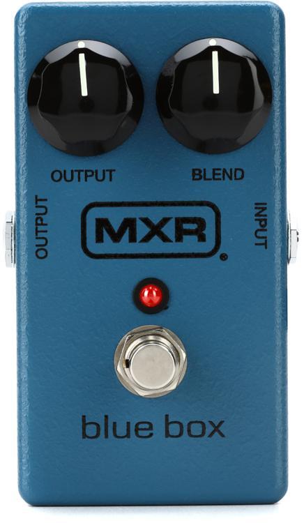 Mxr M103 Blue Box Octave Sweetwater Com