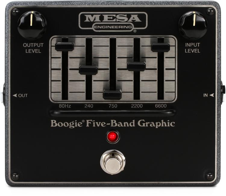 Mesa Boogie Boogie Five Band Graphic Eq Sweetwater Com