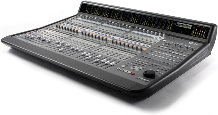 Avid c 24 studio bundle with protools hdx - Table de mixage professionnelle studio ...