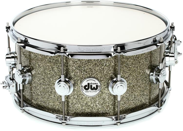dw collector 39 s series finish ply snare 6 5 x14 gold galaxy. Black Bedroom Furniture Sets. Home Design Ideas