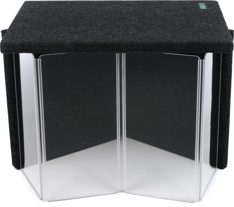 clearsonic amppac11 guitar amp isolation package 24 x35 with back and lid. Black Bedroom Furniture Sets. Home Design Ideas