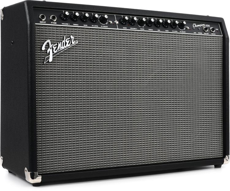 fender champion 100 100w 2x12 guitar combo amp. Black Bedroom Furniture Sets. Home Design Ideas
