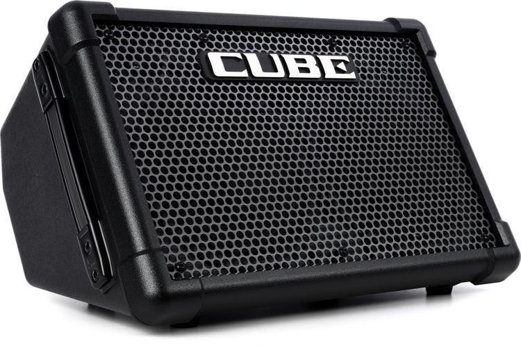 roland cube street ex battery powered 50w 2x8 guitar combo amp. Black Bedroom Furniture Sets. Home Design Ideas
