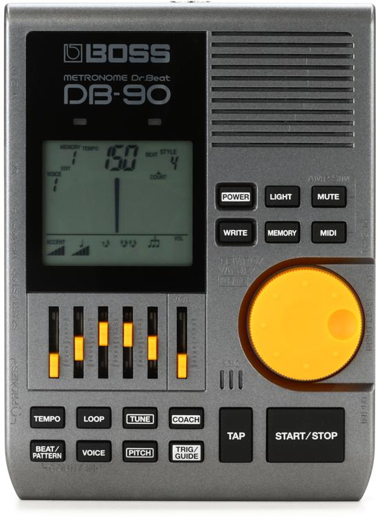 boss db 90 dr beat metronome with tap tempo. Black Bedroom Furniture Sets. Home Design Ideas