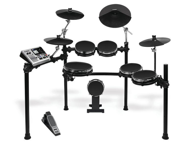 alesis dm10 studio mesh 6 piece electronic drum kit with mesh drumheads. Black Bedroom Furniture Sets. Home Design Ideas