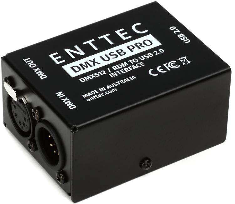 enttec dmx usb pro 512 ch usb dmx interface. Black Bedroom Furniture Sets. Home Design Ideas