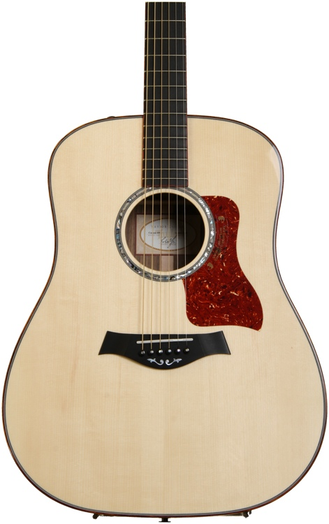 taylor custom dreadnought acoustic electric guitar sweetwater guitars sweetwater. Black Bedroom Furniture Sets. Home Design Ideas
