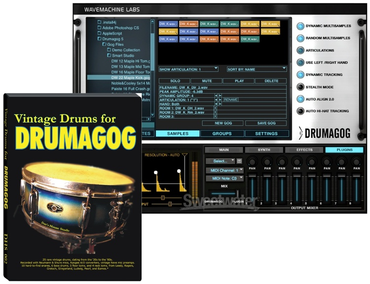 how to use drumagog in pro tools
