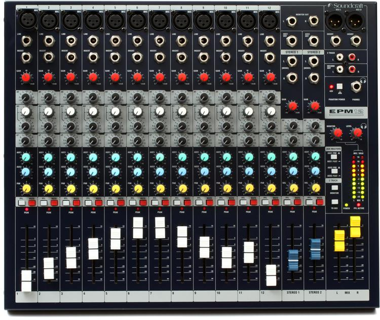 Soundcraft Epm12 Sweetwater Com