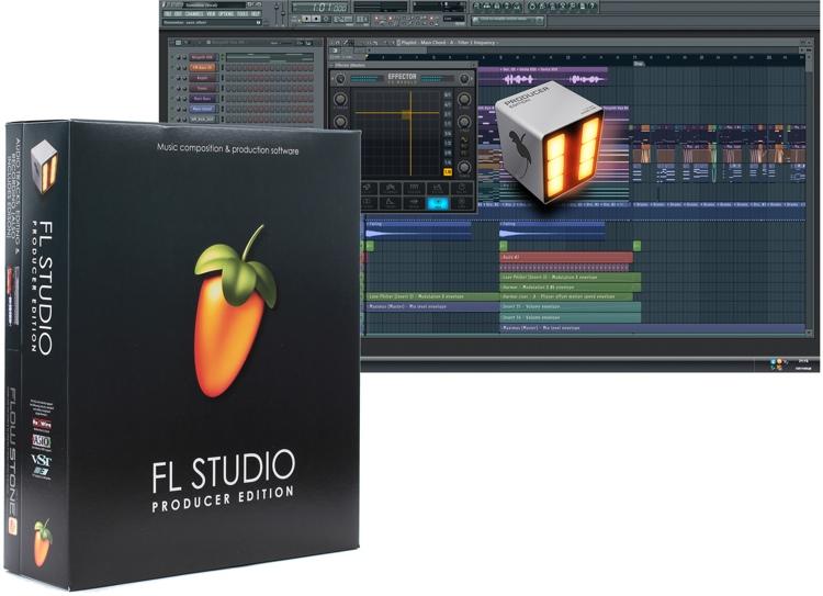 image line fl studio 11 producer edition boxed. Black Bedroom Furniture Sets. Home Design Ideas